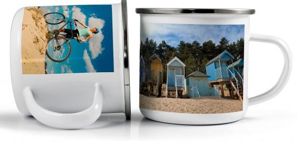 300ml Enamel PhotoMug
