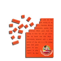 Magnetic Word Games - A4