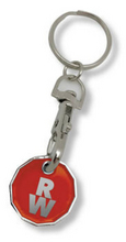 BEST SELLER! NEW £1 Coin Trolley Coin Keyring